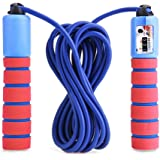 Balala Adjustable Skipping Rope with Counter with Foam Handle PVC