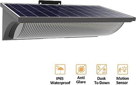 60 LED Solar Light Motion Sensor Outdoor Yard Garden Wall Lamp Waterproof IP65