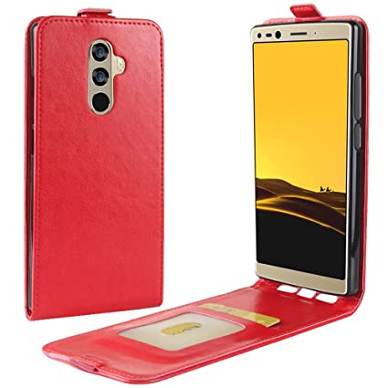 Doogee Mix 2 Funda de PU Cuero Leather con Ranuras para ...