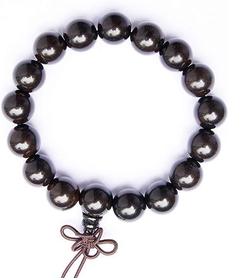 Prayer chain Tibet Buddhist Charm Glass Beads Bracelet