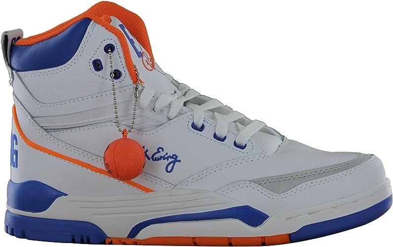 Blue Orange Basketball Schuhe Shoes Men