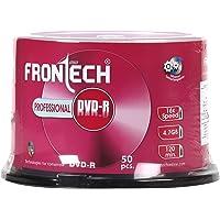 Frontech 4.7 GB 5001 FD Blank DVD-R - 50 Pcs