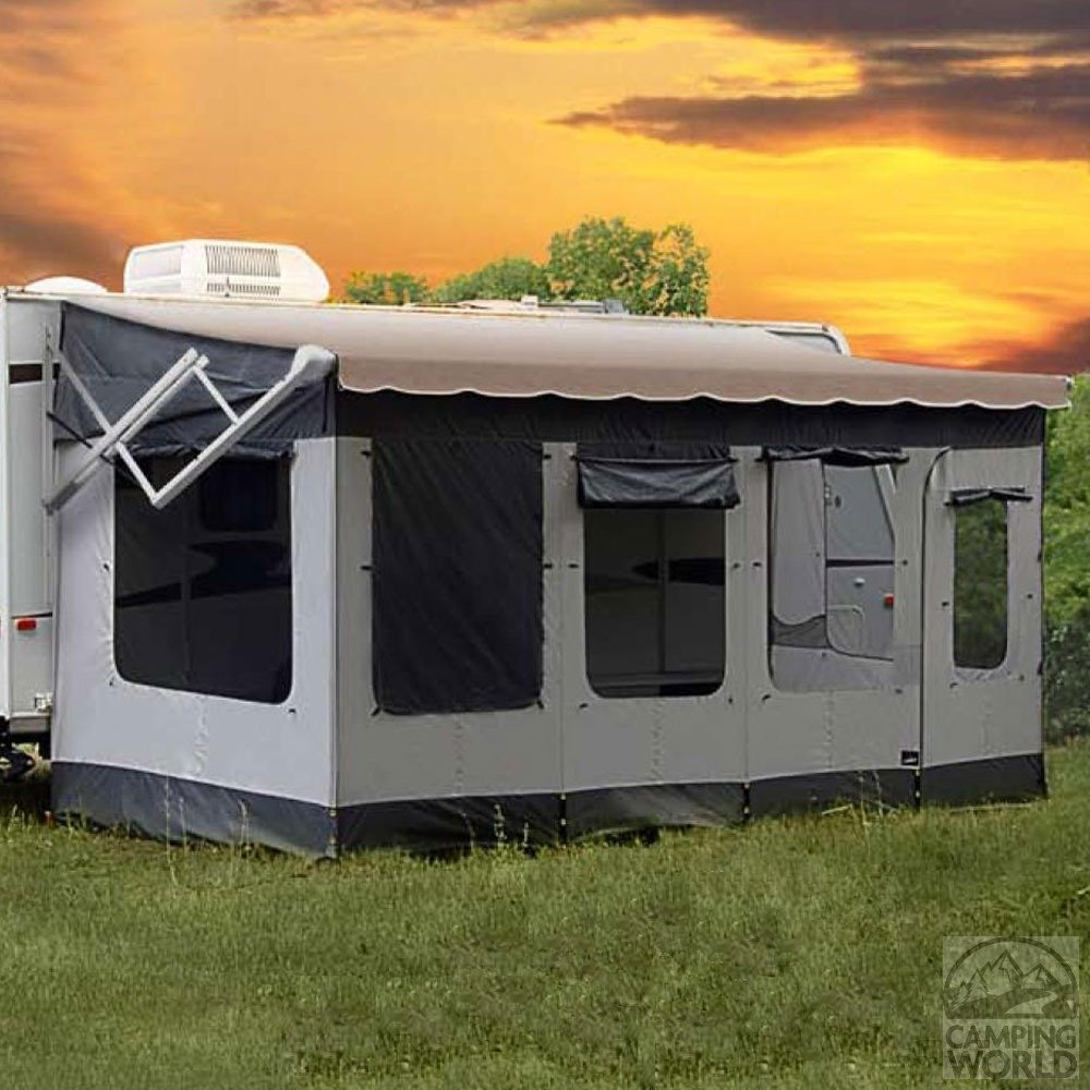 Carefree 291800 Vacationr Screen Room For 18 To 19 Awning