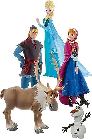 Frozen - Bumper Pack, set con 5 figuras, Bullyland 12220: Amazon.es: Juguetes y juegos