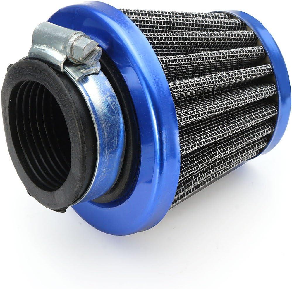 GOZAR 35Mm//38Mm//40Mm//42 Mm//45Mm//48 Mm Filtro De Aire para La Vespa del Ciclomotor De Gy6 50Cc Qmb139-35Mm