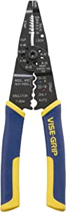 IRWIN VISE-GRIP Wire Stripping Tool / Wire Cutter, 8-Inch (2078309)