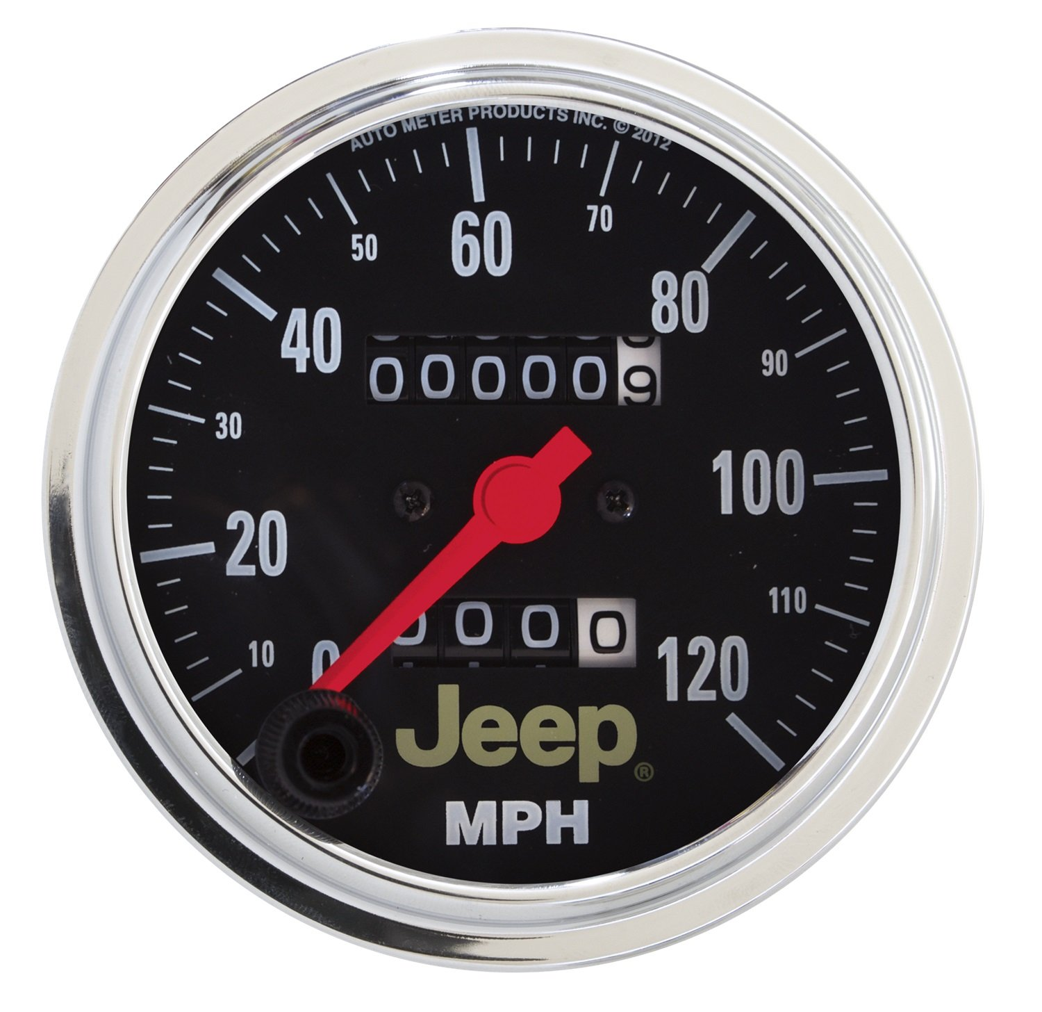 Auto Meter 880245 Mechanical Speedometer for Jeep