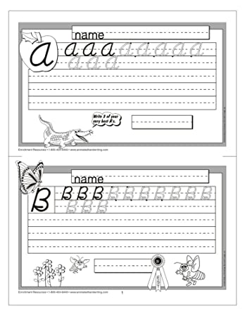 Amazon.com: Animated Handwriting - Modern Cursive: Video-assisted ...