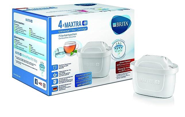 84 opinioni per BRITA Filtri MAXTRA+ per caraffa filtrante, Confezione da 4 mesi con 4 filtri