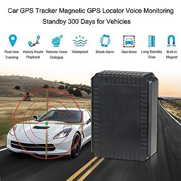 KKmoon GPS Localizador Magnético GPS Tracker Monitoreo de Voz: Amazon.es: Coche y moto