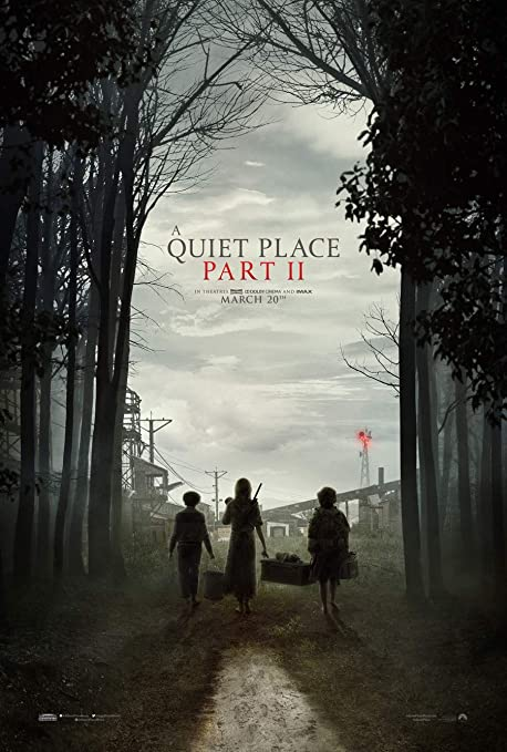Amazon.com : A QUIET PLACE PART II 2 MOVIE POSTER 2 Sided ORIGINAL ...