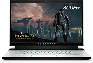 New Alienware m15 R3 Gaming Laptop, 15-Inch 300hz 3ms FHD Display, Intel Core i7-10th Gen, Nvidia GeForce RTX 2080 Super 8GB GDDR6, 1TB SSD, 32GB RAM, Lunar Light