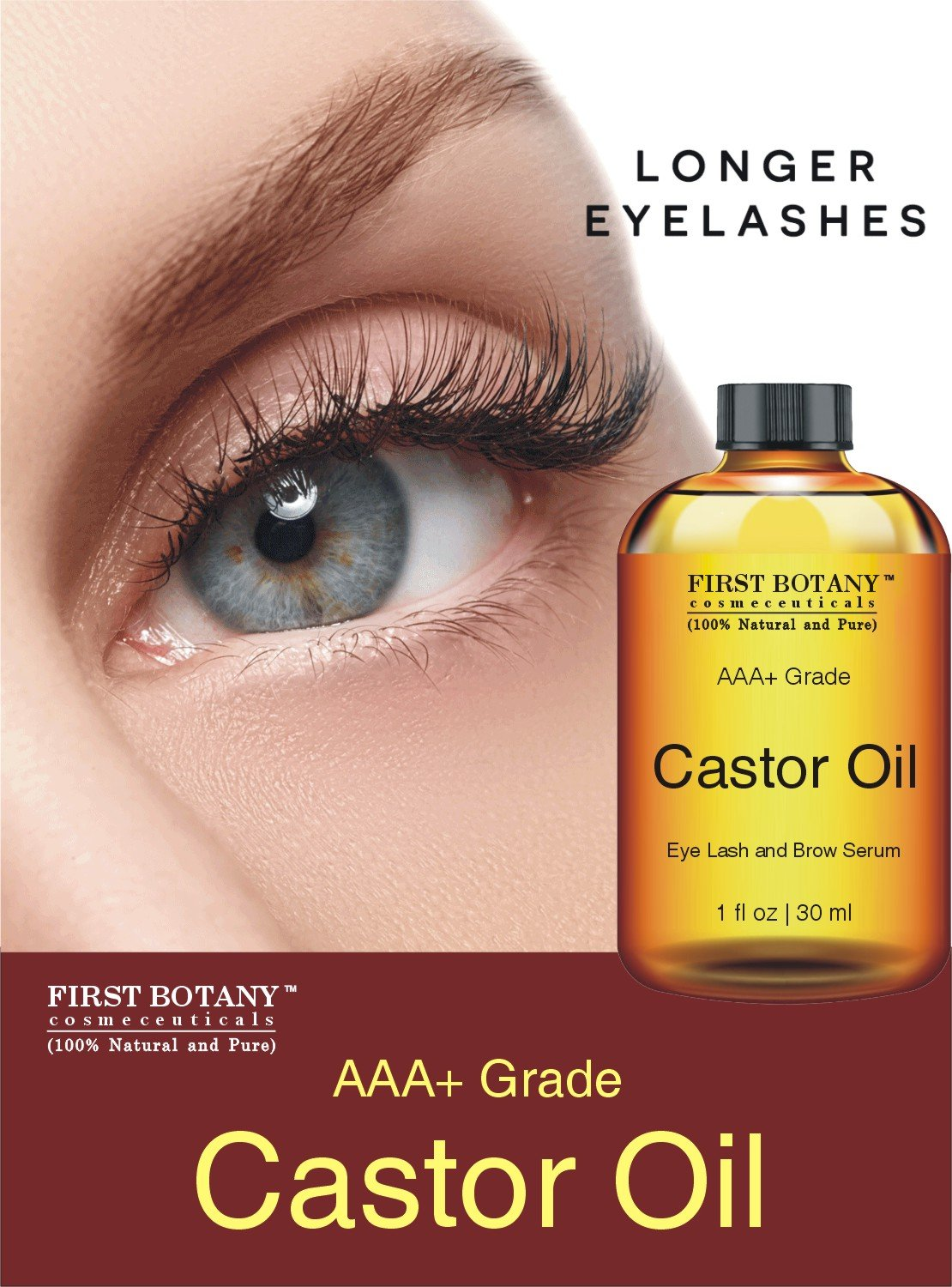 Amazon 100 Pure Organic Castor Oil Hexane Free Great For