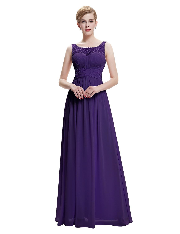 Damen Elegant Abendkleid festkleid Lang Hochzeitskleid Brautkleid