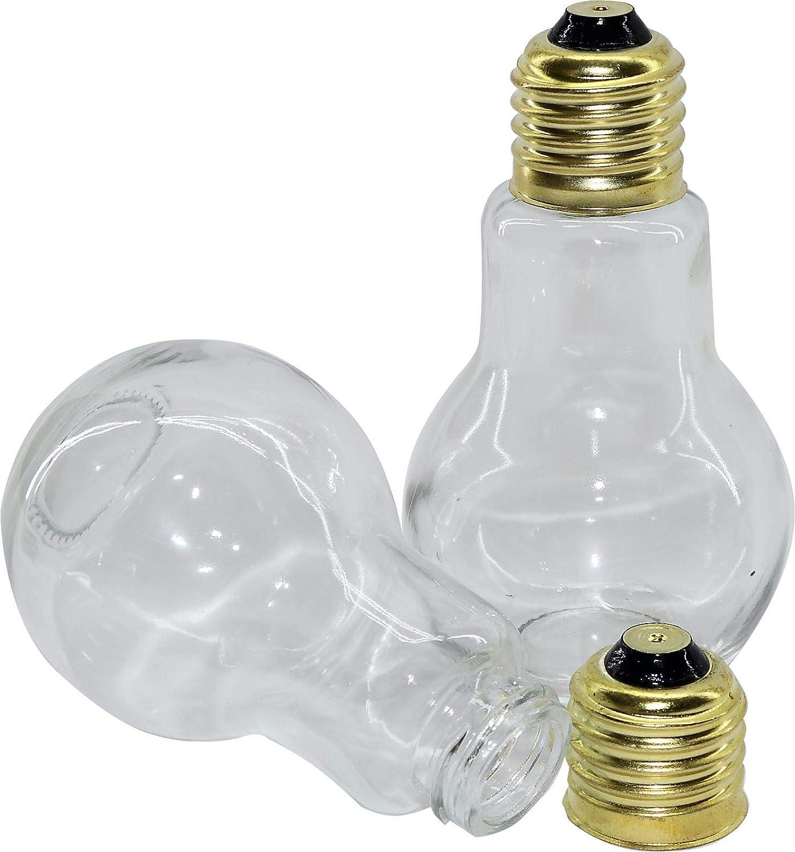 RMB Set di spezie, sale e pepe Saliera e Pepiera in lampadine di design