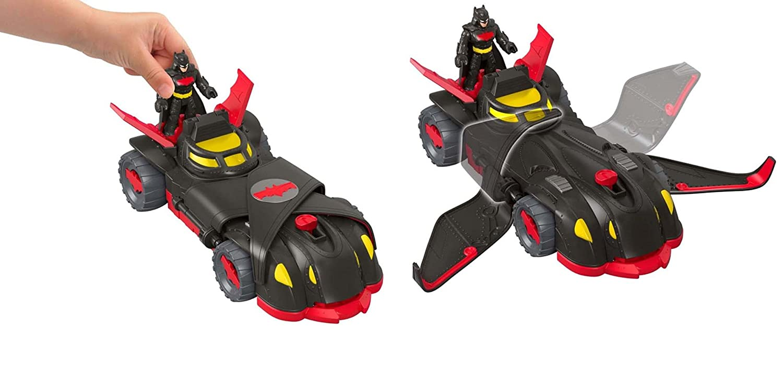 Fisher-Price Juguetes Ni/ños +3 A/ños Imaginext DC Batm/óvil Camuflaje Ninja Mattel FTG92