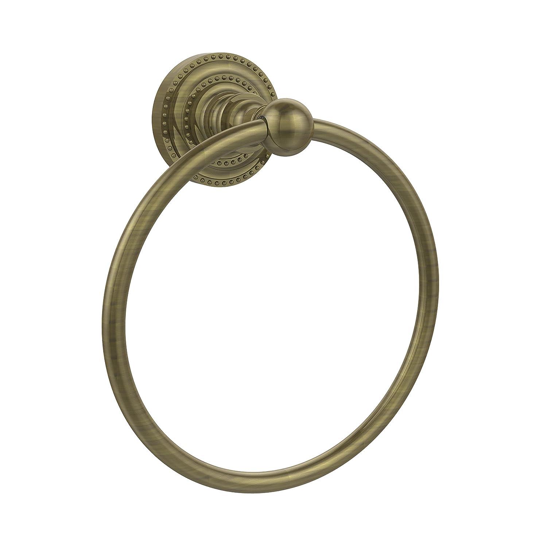 Allied Brass DT-16-ABR 15cm Towel Ring, Antique Brass B001O8AIKE