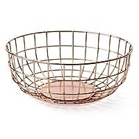 Menu 9100239Basket, Metal, Copper, 25x 25x 10cm