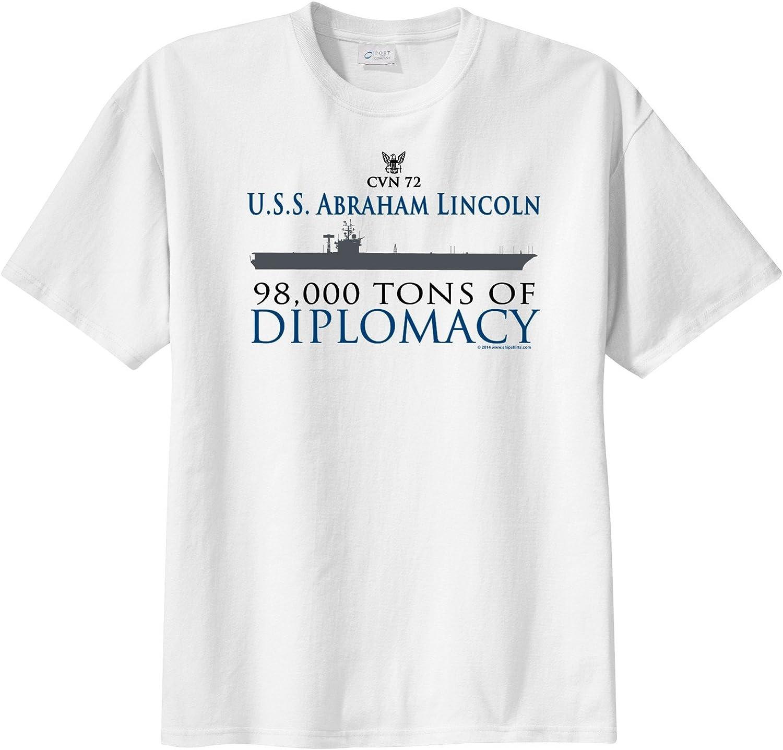 Abraham Lincoln Silhouette Mens T Shirt