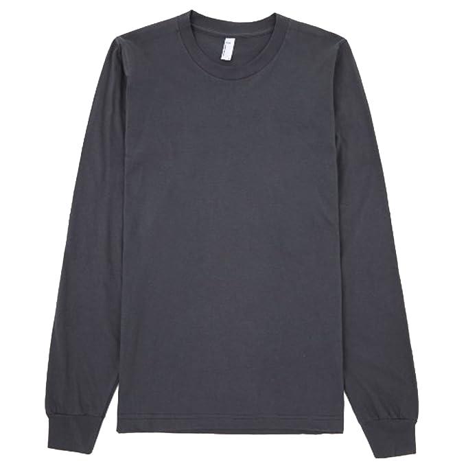 07403ea9a0e3b American Apparel - Camiseta de Manga Larga algodón Modelo Plain Unisex   Amazon.es  Ropa y accesorios