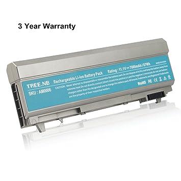NB batería del ordenador portátil para Dell Latitude E6400 ATG E6410 ATG Precision M2400 M4400 baterías de portátiles Dell PT434 PT435 PT436 PT437 KY477 ...
