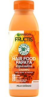 Garnier Fructis Hair Food Mascarilla Capilar 3 en 1 Papaya ...