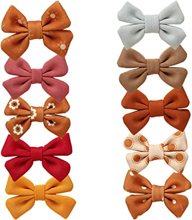 Baby Fashion Special Occasion Set of 4 Baby Headbands Baby Hair Bow Gift Set Spring Gift Set Hair Bows for Toddlers Hair Accessories