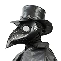 Plague Doctor Mask - Bird Beak Mask with Special Design of The Eye Contour Eye-catching Cool Steampunk Halloween Costume Cosplay Props Mask
