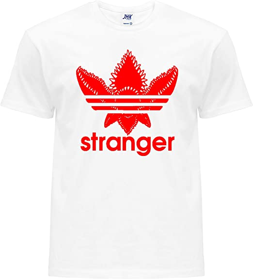 Camiseta para niños 100% algodón con logo -Stranger-Trefoil ...