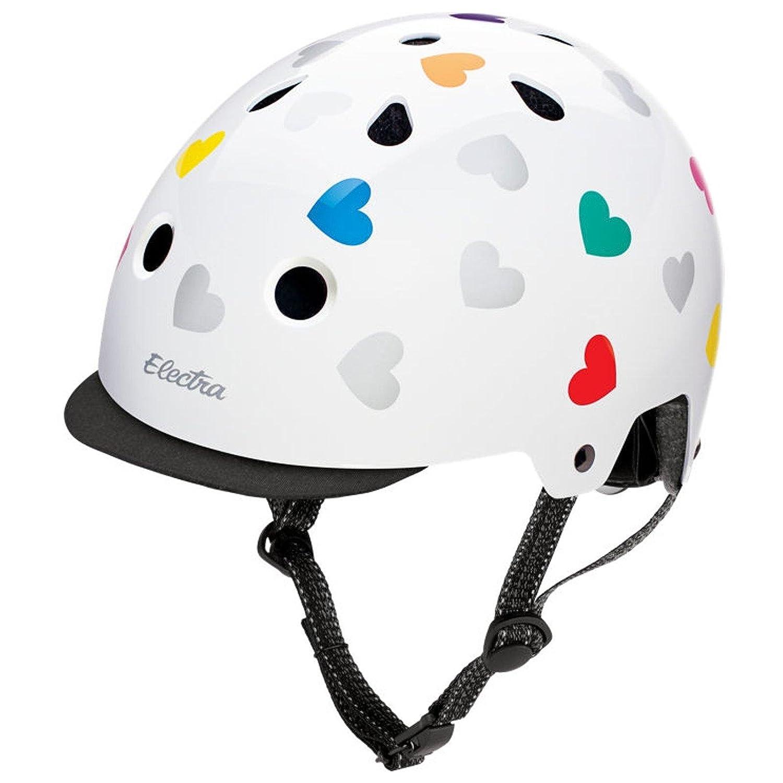 Electra Bike und Skate Helm 'Heartchya' Solid Farbe Helmet, Größe (Kopfumfang) 48-54 cm