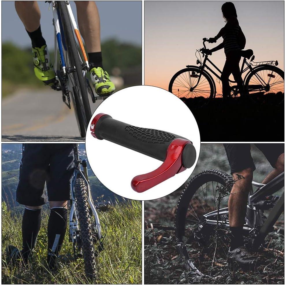 Vicfund Bicicleta Aluminio Manillar Pu/ños Bicicleta Monta/ña Bicicleta Cuernos Alb/óndigas Ergon/ómico Ciclismo Pu/ños