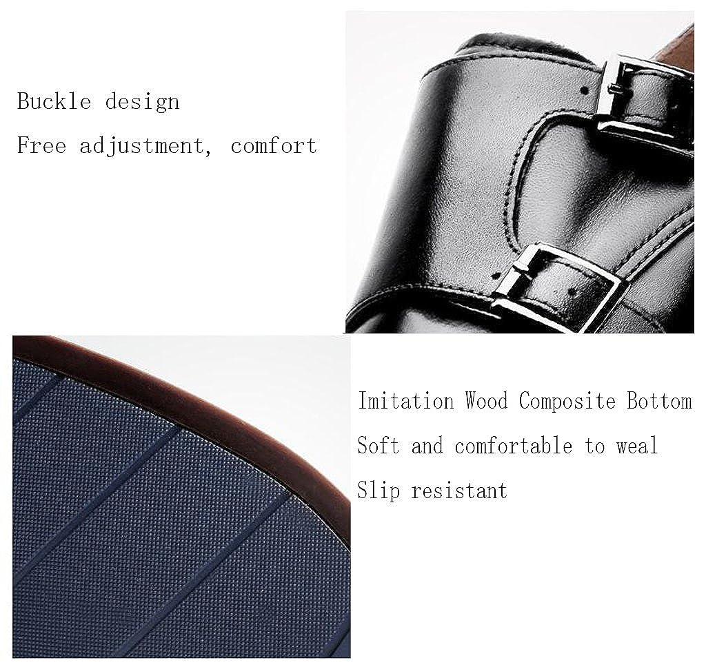 Formelle Leder Herrenschuhe Bequeme Handgemachte Handgemachte Handgemachte Schuhe Mode Spitzen Hochzeitsschuhe,schwarz,42 79731b