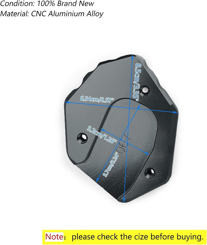 Artudatech Plaque de support lat/érale pour moto Yamaha MT 09 FZ 09 2014-2018 XSR900