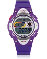 JSC luck Pasnew LED Waterproof 100m Sports Digital Watch for Children Girls Boys (Purple)