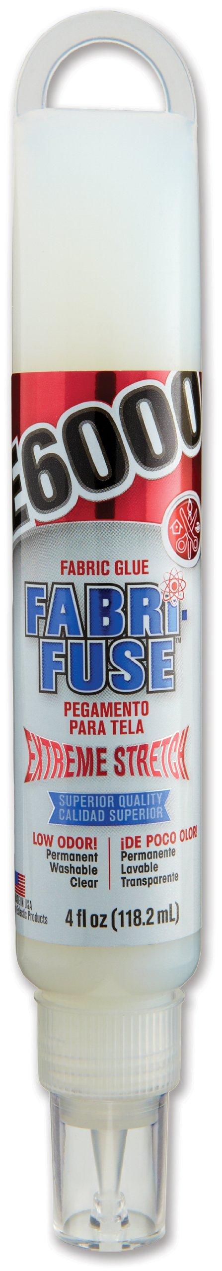 E6000 565002 Fabri-Fuse Adhesive, 4 fl oz Hang Bottle