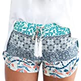 Gillberry Pants Women's Hot Pants Summer Casual Shorts High Waist Short Pants