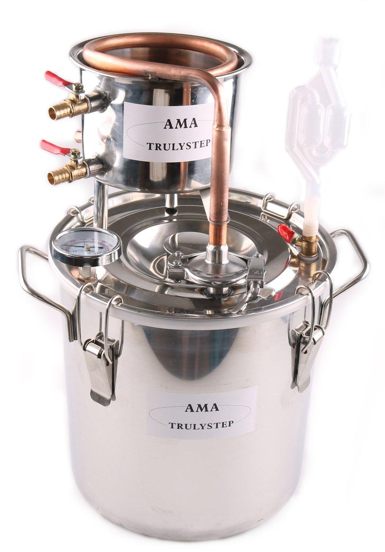 WMN_TRULYSTEP MSC02_US_VC Moonshine Still Essential Oil Home Distiller, 12 Litres / 3 Gallon, Bronze
