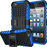 ykooe iPod Touch 7 Case, Touch 6 Case, Touch 5 Case, Heavy Duty Protective Cover Dual Layer Hybrid Shockproof Protective…