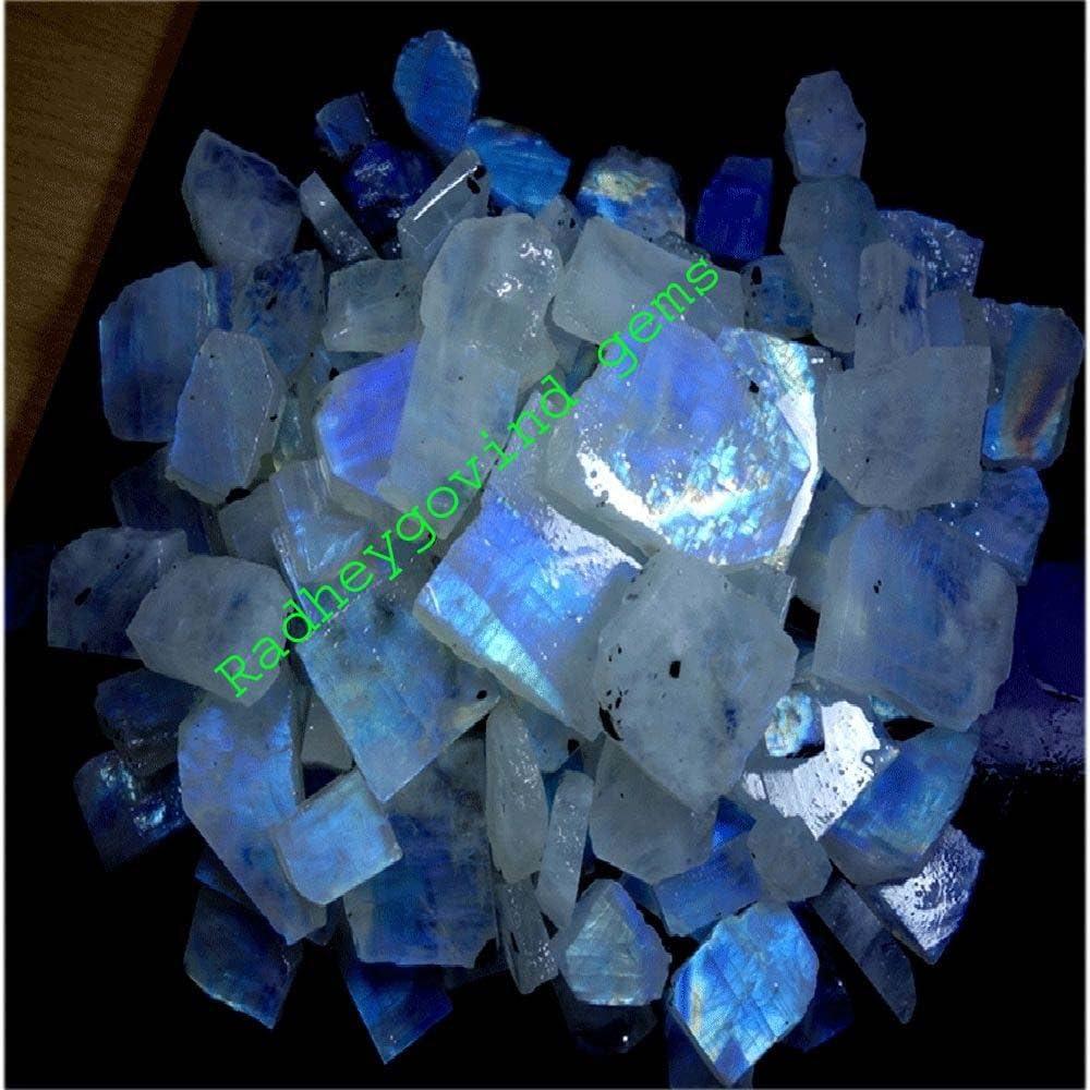 AAA Quality Rainbow Moonstone 54Cts 4 Pcs Rainbow Moonstone Cabochon 100/% Natural Mix Shape Rainbow Moonstone Gemstone Pendant Stone