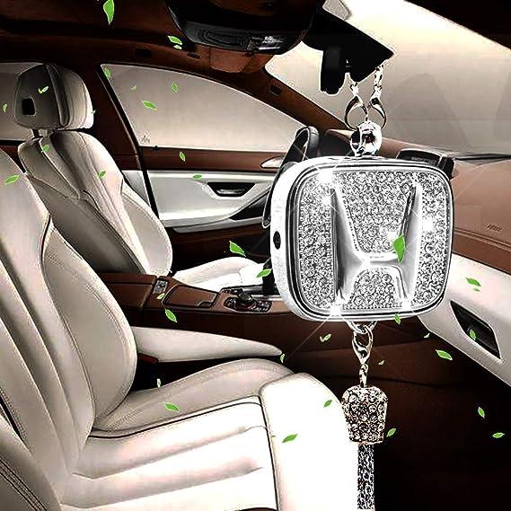 Villsion Original Auto Duft Diamond Logo Lufterfrischer Rückspiegel Parfüm Anhänger Autoduft Mit Geschenkbox Auto