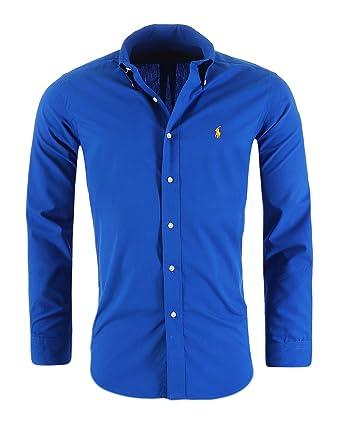62acfc4431d Ralph Lauren Men s Casual Shirt Slim Fit S-M-L-XL-XXL Outlet