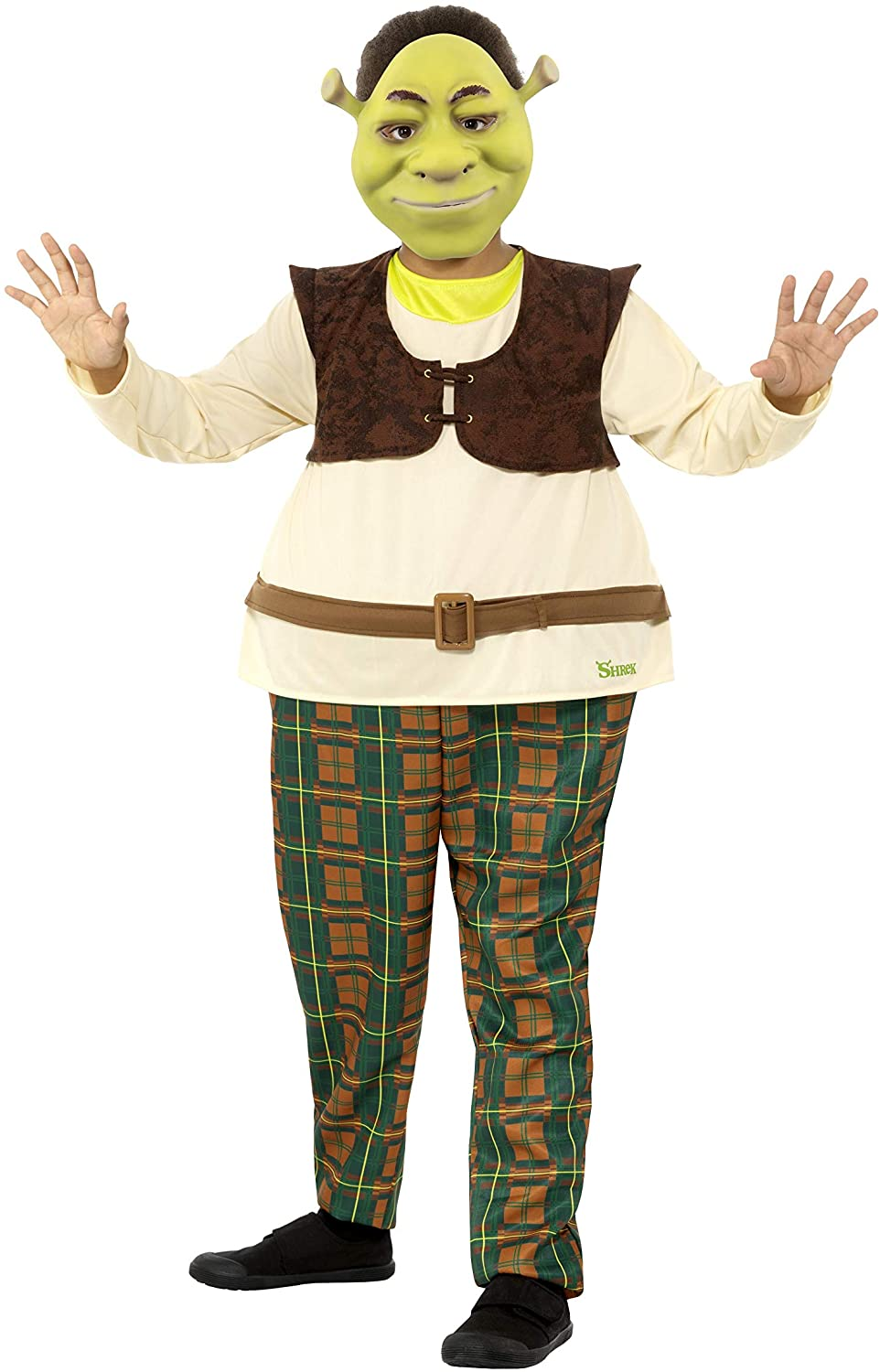 Childs Shrek Fancy Dress Costume Official Licensed Childrens Outfit by Smiffys