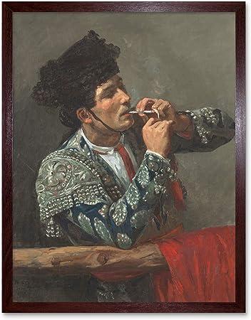 Cassatt After Bullfight Smoking Spain Spanish Torero Painting Art ...