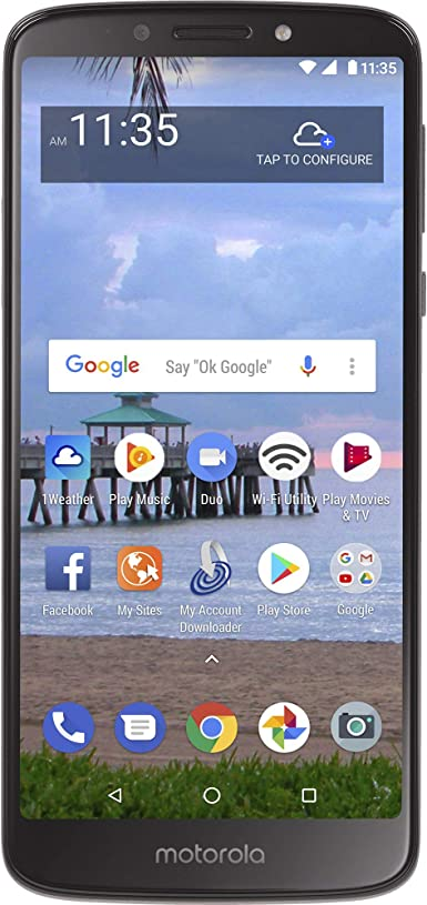 Net10 Motorola Moto e5 4G LTE prepago Smartphone: Amazon.es ...