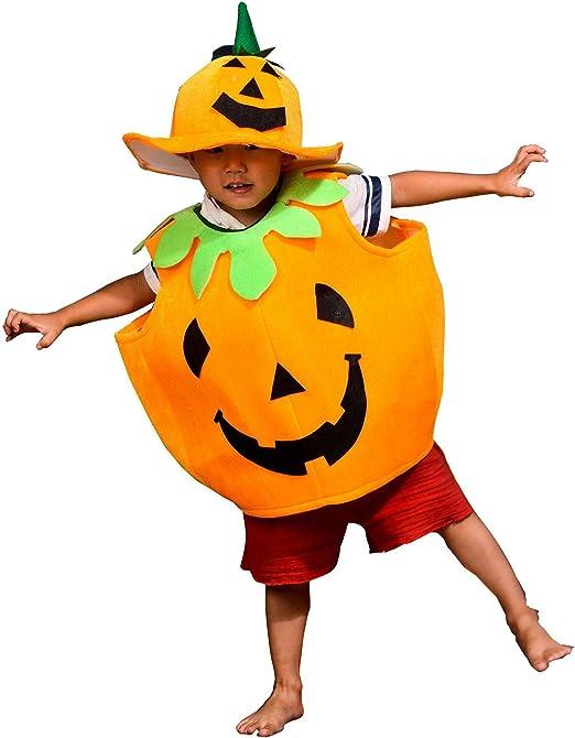 Sxwz Disfraz de Halloween para niños Disfraz de Calabaza Disfraz ...