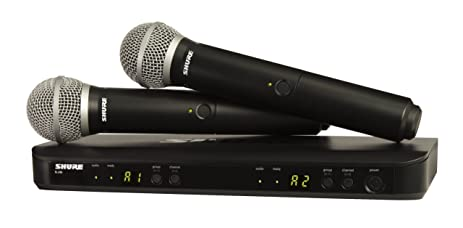 71H0qpq0ZbL._SX463_ amazon com shure blx288 pg58 wireless vocal combo with pg58 shure pg58 wiring diagram at gsmx.co