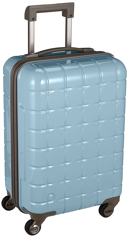 [プロテカ] Proteca スーツケース 日本製 360s(スリーシックスティエス)3年保証 サイレントキャスター 49cm 32L 機内持込みサイズ B06WLMGMHM シフォンブルー シフォンブルー