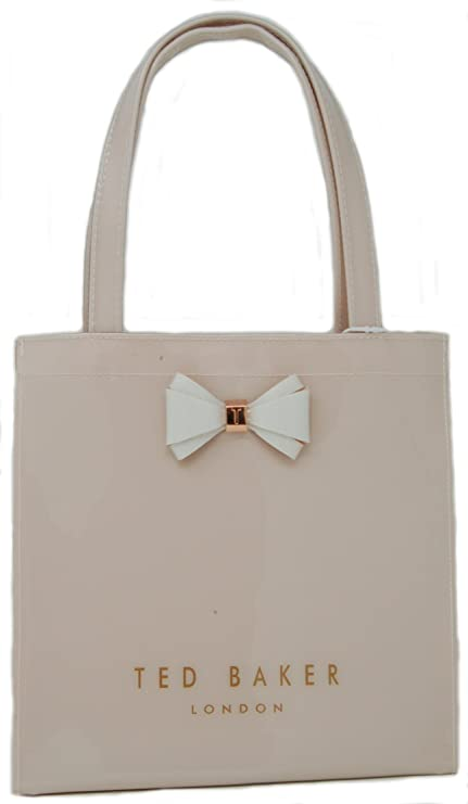 40916539a662de Ted Baker Small Icon Bag  Aracon  in Mid Pink with Bow  Amazon.in  Bags