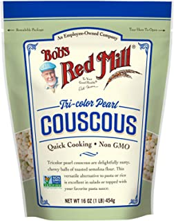 product image for Tri-Color Pearl Couscous, 16 Ounce (Pack of 1)