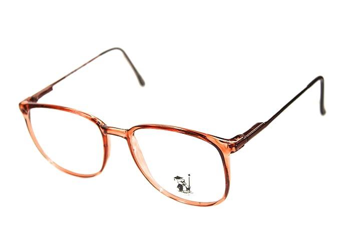 c10601b21fb59 Amazon.com  Hipster Square Retro Eyeglasses Geek Nerd Eyewear 54mm ...